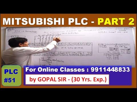 PLC TRAINING- MITSUBISHI WIRING - INPUT/OUTPUT/ PNP/NPN ...