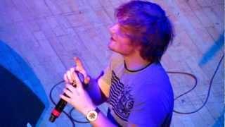 Wayfaring Stranger Cover - Ed Sheeran (Live at Massey Hall, Toronto 4/17/12)