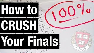 How to Crush Your Finals