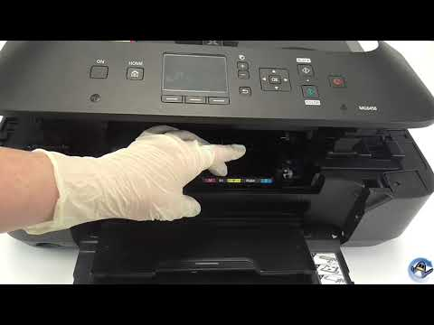 Changing The Printhead On A Canon MG6450