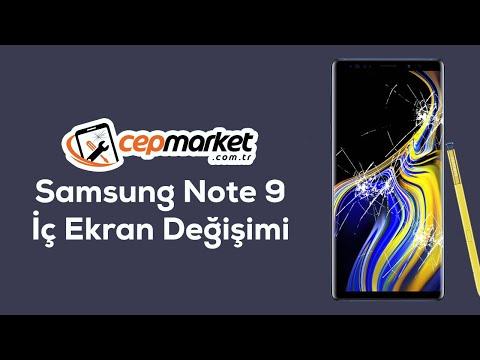 , title : 'Samsung Note 9 İç Ekran Değişimi, Florasan Çakması, Işık Titremesi'
