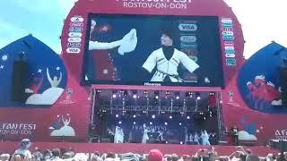 Ансамбль «Зори Майкопа», Ростов-на-Дону, ЧМ по футболу (видеограф @studio_nart)
