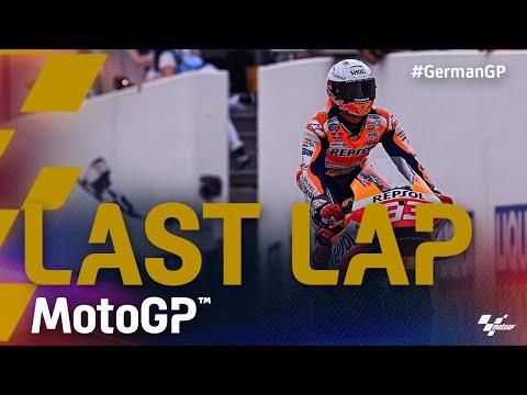 MotoGP 2021 カタルニアGP 決勝レースのラストラップの走りを捉えた動画