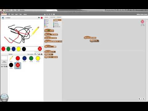 Scratch Tutorial 6 – Drawing!
