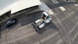 First time flying a warehouse