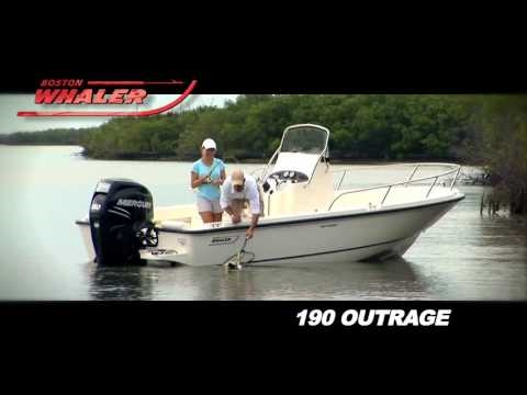 Boston Whaler 190 Outrage video