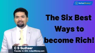 The Six Best Ways to become Rich! Money Doctor Show English   EP 194