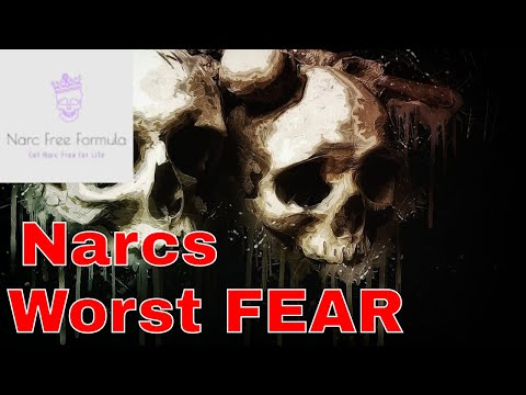 What do Narcs fear? The top six things that Narcissists fear. #Narcissist #Fear