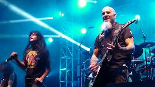 Anthrax - Caught in a mosh (vivo en el Jockey Club)