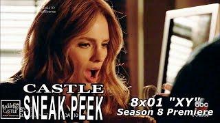 """Castle 8x01 Sneak Peek #4 """"XY"""" Extended cupcake scene"""