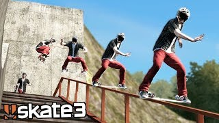 Skate 3: INSANE DARK SLIDE TRICK? | Epic Challenges!
