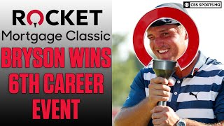 Bryson DeChambeau wins Rocket Mortgage Classic on the PGA Tour, Matthew Wolff 2nd | CBS Sports HQ