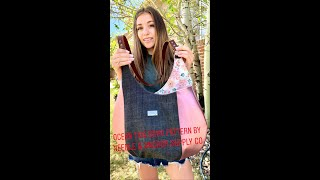 Ocean Tide Boho Bag Pattern By Needle & Anchor Supply Co. Tutorial By SiahSwag