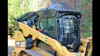 Enhanced Guarding for Caterpillar Skid Steer with MG. – Heavy Equipment Armor