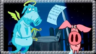 Piglet - Part 5 - The Ghost | 3D Animation Kids Videos | Full Episodes