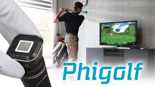 PhiGolf Smart Home Golf Simulator