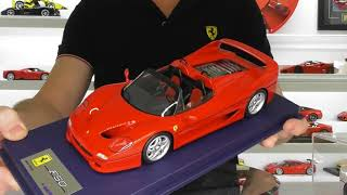 FERRARI F50 SPIDER & COUPE by LOOKSMART MODELS - FULL REVIEW