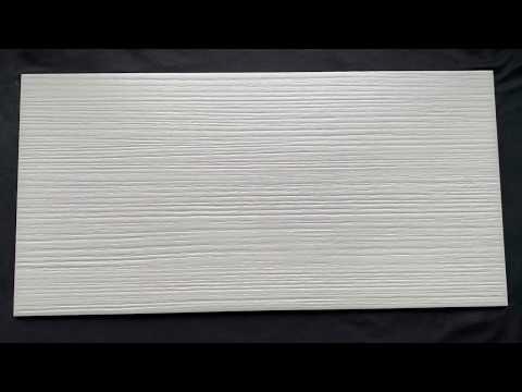 Gres szkliwiony METALIC biały mat 29,7x59,8 gat. I