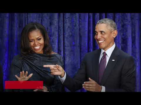 Michelle and Barack Obama's portraits unveiled - best reactions