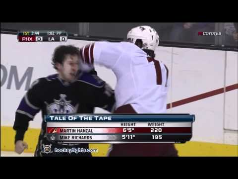 Mike Richards vs. Martin Hanzal
