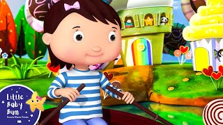 Fila filas fila su barco | Dibujos Animados Y Canciones Para Niños |  Little Baby Bum