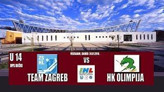 U-14 DP 21.1.2018 Team Zagreb – HK Olimpija 3:7, posnetek tekme