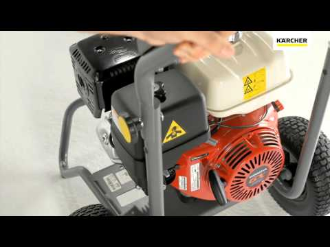 Limpiadora a presión HD con motor a gasolina