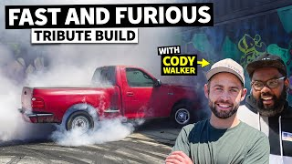 NEW BUILD! 2JZ Swapped Ford F-150 Shop Truck, a Fast and the Furious Tribute Project