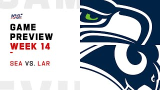 Seattle Seahawks vs Los Angeles Rams Week 14 NFL Game Preview