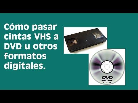 Aprende a Convertir Cintas VHS en DVDs