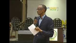 preview picture of video 'Youth Connekt dialogue - Rwandan Youth Meet President Kagame- Kigali, 30 June 2013'