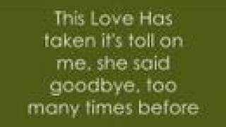 Maroon 5-This Love with lyrics