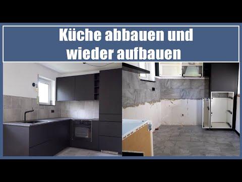 Küche abbauen und wieder aufbauen