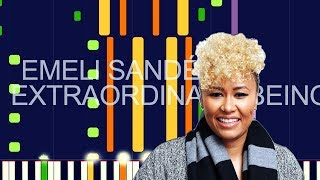 """Emeli Sandé   EXTRAORDINARY BEING (PRO MIDI REMAKE)   """"in The Style Of"""""""