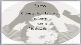 work stress management.