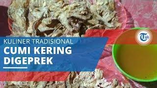 Sotong Pangkong, Kuliner Tradisional dari Cumi Kering yang Digeprek
