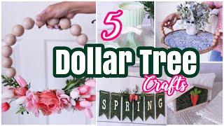 5 Dollar Tree DIY Spring Decor Crafts
