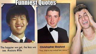 Funniest Senior Yearbook Quotes