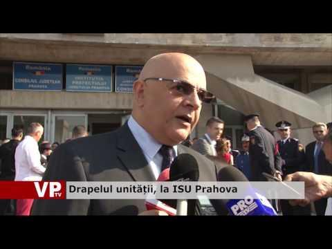 Drapelul unității, la ISU Prahova