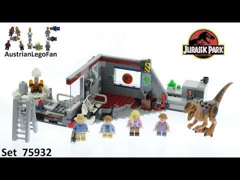 Vidéo LEGO Jurassic World 75932 : La poursuite du Vélociraptor - Jurassic Park
