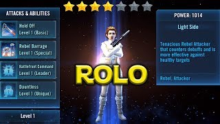 Star Wars: Galaxy Of Heroes - Rebel Officer Leia Organa ROLO Kit Released