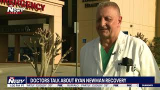 MIRACLE RECOVERY: Doctor Describes NASCAR Driver Ryan Newman Daytona 500 Crash and Recovery