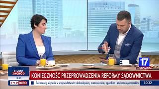 Michał Rachoń pyta o przepisy w traktacie o UE