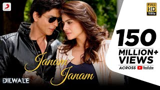 Gambar cover Janam Janam – Dilwale | Shah Rukh Khan | Kajol | Pritam | SRK | Kajol | Lyric Video 2015