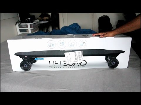 I gotta Liftboard Electric Skateboard! (Unboxing and Review)