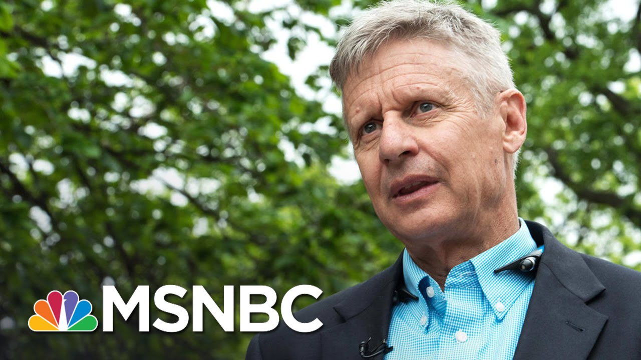 Gary Johnson Remark Adds To 'Dreary Campaign Year' | Morning Joe | MSNBC thumbnail
