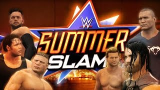 WWE 2K16 Summerslam Promo