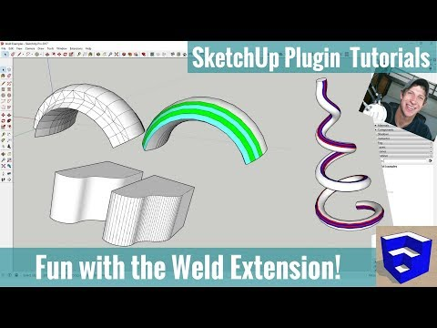 Modeling with the Weld Extension in SketchUp - SketchUp Extension