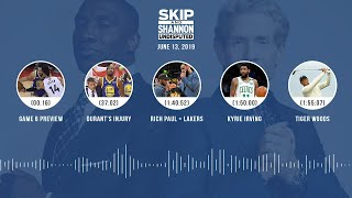 UNDISPUTED Audio Podcast (6.13.19) with Skip Bayless, Shannon Sharpe & Jenny Taft | UNDISPUTED