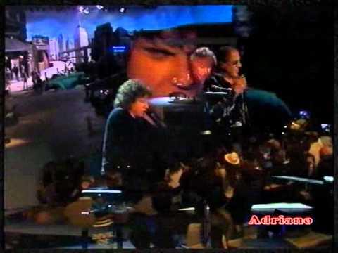 Riccardo Cocciante   Bella Senz'anima live da Celentano